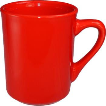 ITW87241664 - International Tableware - 87241-664 - 8 1/2 Oz Cancun™ Red Toledo Mug Product Image