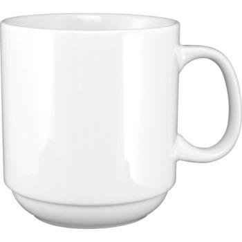 ITW9696W - ITI - 9696W - 12 oz Porcelain Stacking Mug Product Image