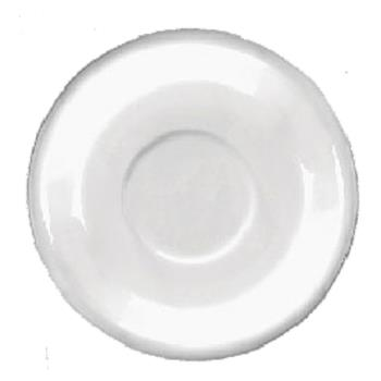 ITW8137602S - ITI - 81376-02S - 6 1/4 in European White Bistro Saucer Product Image