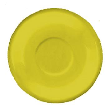 ITW81376242S - ITI - 81376-242S - 6 1/4 in Yellow bistro saucer Product Image