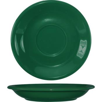 ITW8137667S - ITI - 81376-67S - 6 1/4 in Green bistro saucer Product Image