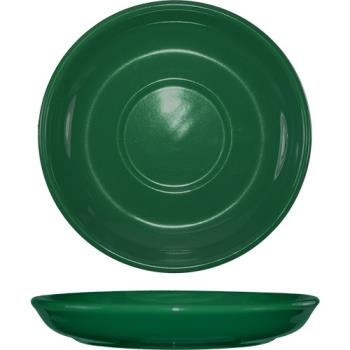 ITW82267S - ITI - 822-67S - 6 1/8 in Green latte saucer Product Image