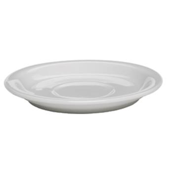 99121 - Rattleware - 09201 - Coffee House Collection 4 3/8 in White Saucer Product Image