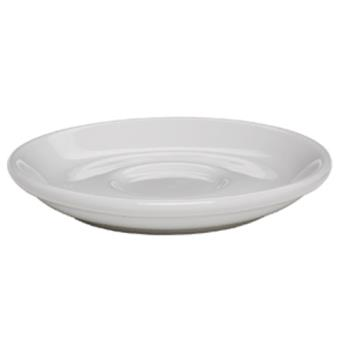 "99123 - Rattleware - 09211 - Coffee House Collection 6 1/2"" White Saucer Product Image"