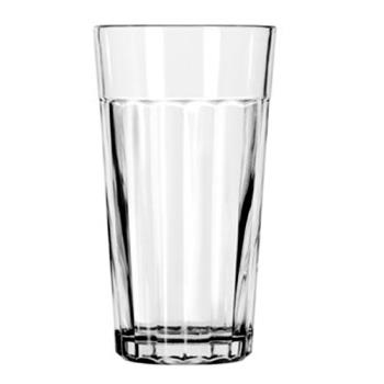 LIB15642 - Libbey Glassware - 15642 - 16 oz Paneled Cooler Glass Product Image