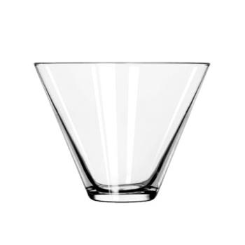 LIB224 - Libbey Glassware - 224 - 13 1/2 oz Stemless Martini glass Product Image