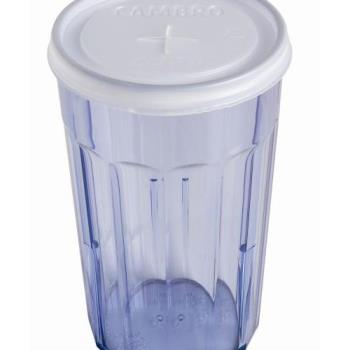 CAMCLNT8190 - Cambro - CLNT8190 - CamLid® Disposable 7.7 oz Newport Tumbler Lid Product Image