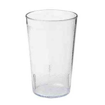 GET660812CL - GET Enterprises - 6608-1-2-CL - 8 oz Clear Pebbled Tumbler Product Image