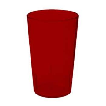 GET660812R - GET Enterprises - 6608-1-2-R - 8 oz Red Pebbled Tumbler Product Image