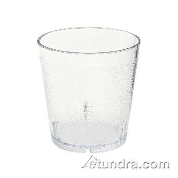 GET661012CL - GET Enterprises - 6610-1-6-CL - 10 oz Clear Pebbled Tumbler Product Image