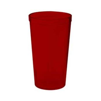 GET661612R - GET Enterprises - 6616-1-2-R - 16 oz Red Pebbled Tumbler Product Image
