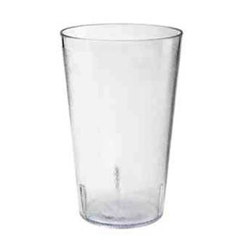 GET669512CL - GET Enterprises - 6695-1-2-CL - 9.5 oz Clear Pebbled Tumbler Product Image
