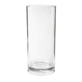 GETH91SANCL - GET Enterprises - H-9-1-SAN-CL - Cheers SAN 9 oz Hi-Ball Glass Product Image