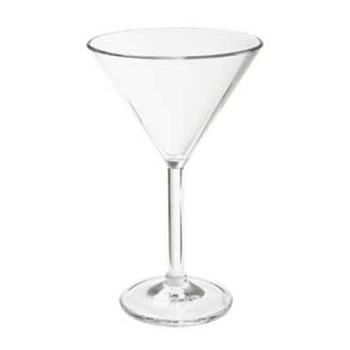 GETSW14021SANCL - GET Enterprises - SW-1402-1-SAN-CL - 6 oz SAN Martini Glass Product Image