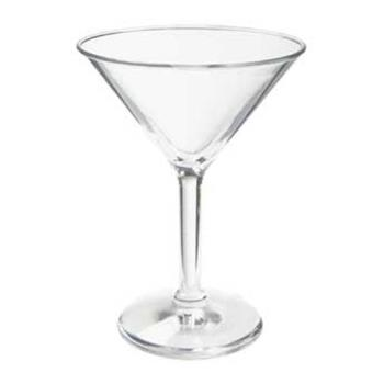 GETSW14071SANCL - GET Enterprises - SW-1407-1-SAN-CL - 10 oz SAN Martini Glass Product Image