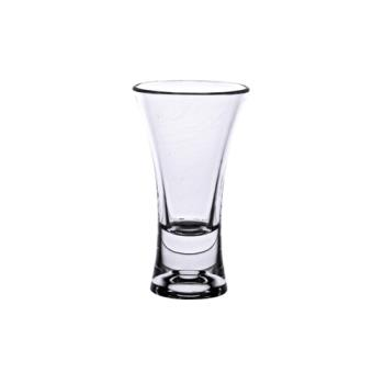 99146 - Thunder Group - PLTHSG002AC - 2 oz Clear Polycarbonate Flared Shot Glass  Product Image
