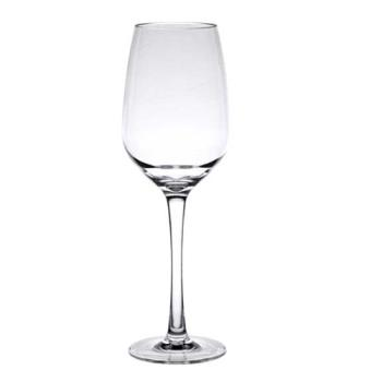99144 - Thunder Group - PLTHWG014RC - 14 oz Clear Polycarbonate Red Wine Glass Product Image