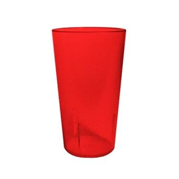 75950 - Winco - PTP-16R - 16 Oz Red Pebbled Tumbler Product Image