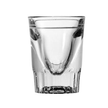 ANC5281932U - Anchor Hocking - 5281/932U - 1 1/2 oz Whiskey Glass w/7/8 oz Cap Line Product Image