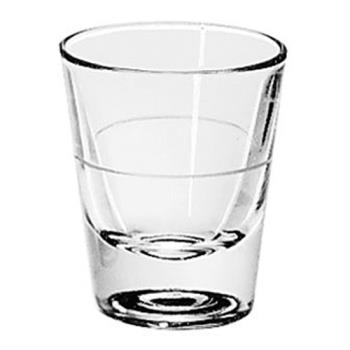LIB5120A0007 - Libbey Glassware - 5120/A0007 - 1 1/2 oz Whiskey Glass w/1 oz Cap Line Product Image