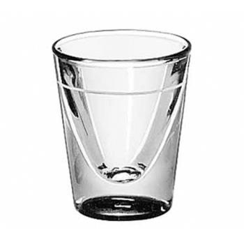 LIB5122S0709 - Libbey Glassware - 5122/S0709 - 1 oz Whiskey Glass w/5/8 oz Cape Line Product Image