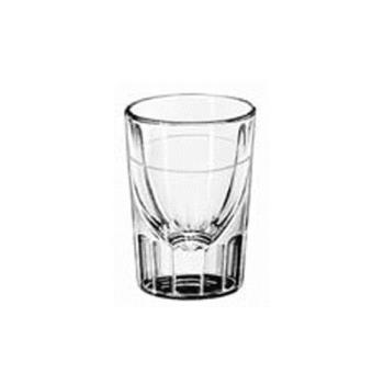 LIB5135S06170 - Libbey Glassware - 5135/S0617 - 1 1/4 Fluted Whiskey Glass w/1/2 oz  Cap Line Product Image