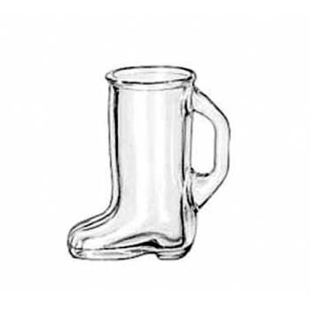 LIB97038 - Libbey Glassware - 97038 - 1 1/2 oz Boot Shot Glass Product Image