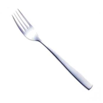 89167 - Cardinal - T1801 - 8 in Stainless Steel Vesca Dinner Fork Product Image