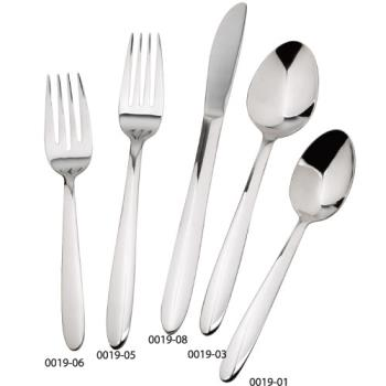 WIN001903 - Winco - 0019-03 - Flute Dinner Spoon Product Image