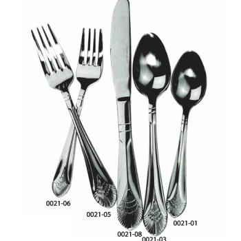 WIN003111 - Winco - 0031-11 - Peacock European Table Fork Product Image