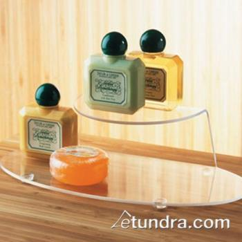CLM80912 - Cal-Mil - 809-12 - 9 3/4 in x 4 1/2 in Clear Amenity Tray Product Image