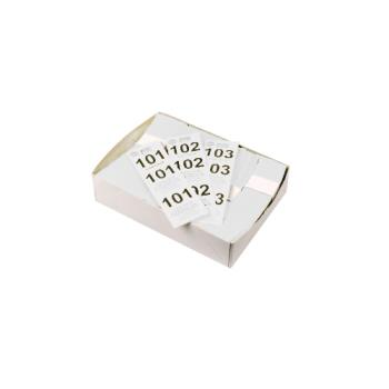 WINCCK5WT - Winco - CCK-5WT - White Coat Check Tags Product Image