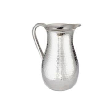AMMDWPH64 - American Metalcraft - DWPH64 - 64 oz Hammered Double Wall Pitcher Product Image