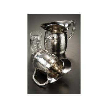 AMMHMWP97 - American Metalcraft - HMWP97 - 100 oz Hammered Stainless Steel Pitcher Product Image