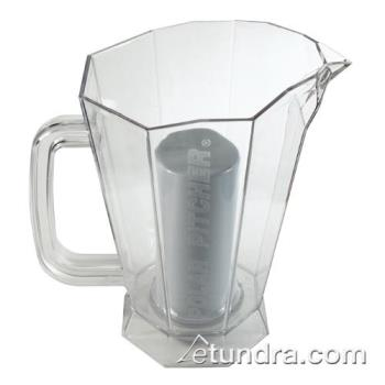 BARCR5830CLR - Bar Maid - CR-5830CLR - 60 oz Polar Pitcher w/Ice Chamber Product Image