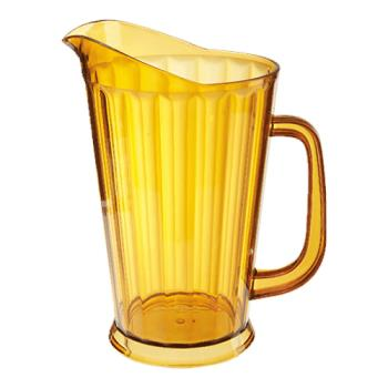 GETP10641A - GET Enterprises - P-1064-1-A - 60 oz Amber Pitcher Product Image