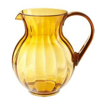 GETP4090PCA - GET Enterprises - P-4090-PC-A - Tahiti 90 oz Amber Pitcher Product Image
