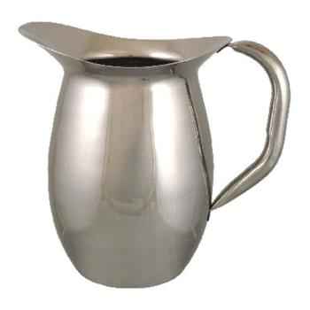 ITWIBGSIC2WO - ITI - IBGS-I-C2W/O - 2 Qt Stainless Steel Deluxe Bell Pitcher with out Guard Product Image