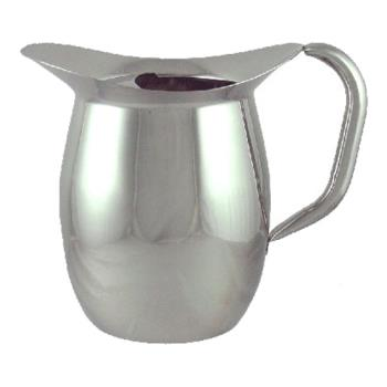 ITWIBGSIC3WG - ITI - IBGS-I-C3W/G - 3 Qt Stainless Steel Deluxe Bell Pitcher with Guard Product Image
