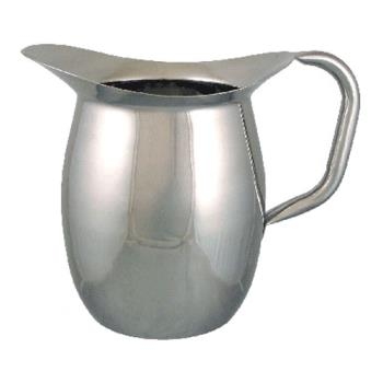 ITWIBGSIC3WO - ITI - IBGS-I-C3W/O - 3 Qt Stainless Steel Deluxe Bell Pitcher with out Guard Product Image