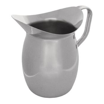 86219 - Tablecraft - 203 - 3 qt Stainless Steel Bell Water Pitcher Product Image