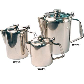 WINW612 - Winco - W612 - 12 oz Stainless Steel Beverage Server Product Image