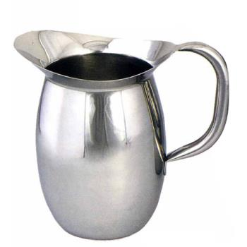 WINWPB2 - Winco - WPB-2 - 2 Qt Stainless Steel Bell Pitcher Product Image