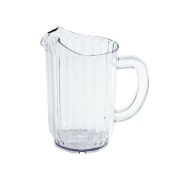 86273 - Winco - WPC-32 - 32 oz Clear Plastic Pitcher Product Image