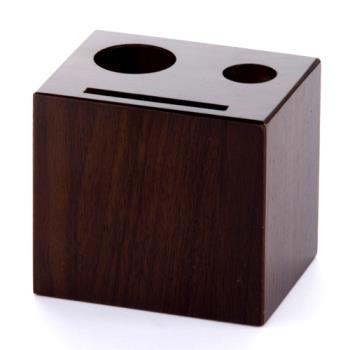 AMMWBW - American Metalcraft - WBW - Walnut Wood Block Check Presenter Product Image