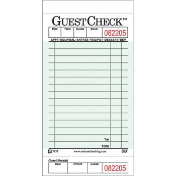 58977 - DayMark - IT112797 - 1 Part - 15 Line Guest Check Product Image