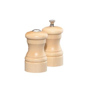 "CSS04300 - Chef Specialties - 04300 - Capstan 4"" Natural Mill & Shaker Set Product Image"