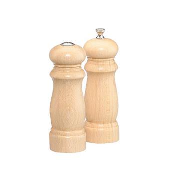 "CSS06200 - Chef Specialties - 06200 - Salem 6"" Natural Mill & Shaker Set Product Image"