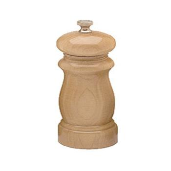 "CSS06252 - Chef Specialties - 06252 - Salem 6"" Natural Salt Mill Product Image"