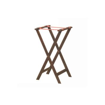 AMMWTSM31 - American Metalcraft - WTSM31 - 31 in Mahogany Tray Stand Product Image